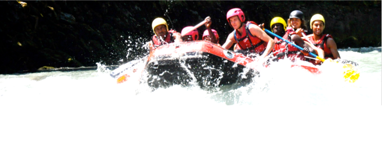 """River Rafting- Team Fun"", Client: Stoke City /UK, Location: Salzach"