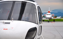 """VIP Heli Shuttle"", Client: Special Booking, Location: Airport Salzburg & Hangar 7"