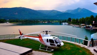 """VIP Heli Shuttle"", Client: Special Booking, Location: Airport Salzburg & Hangar 7"