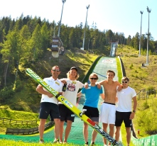 """Team Training"" Client: Nordic Combined, Norway. Location: Ramsau"