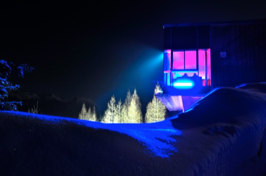 """Fusion Night on the Skijump Hill"", Client: Coop, Location: Bad Mitterndorf - Tauplitz"