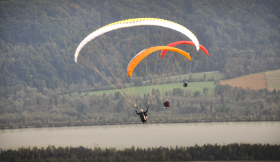 """Paragliding Adventure"", Client: RBI International, Location: Wörthersee, Kärnten"