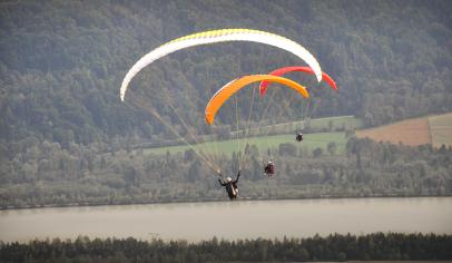 """Paragliding Adventure"", Client: RBI International, Location: Wörthersee, Kärnten"