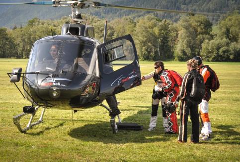 """""""Skydiving"""", Client: Individual Booking, Location: Alpenflugzentrum Niederöblarn"""
