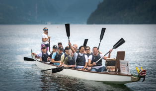 """Dragon Boat Challenge"", Client: Lecapell, Location: Grundlsee"