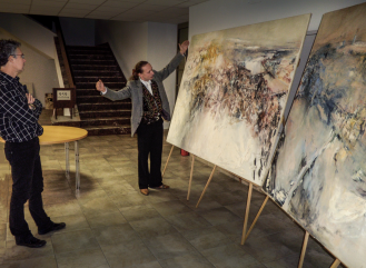 """Exhibition Event"" Client: Jan Rericha Cardamine, Location: Prag"