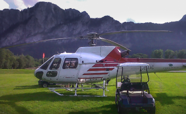 """Helicopter Golf"", Client: Scalaria, Location: GC Mondsee, Salzburg"