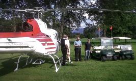 """""""Helicopter Golf"""", Client: Scalaria, Location: GC Mondsee, Salzburg"""