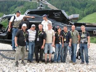 """Erzberg Rodeo - Special Helikopter Service"", wird VIP Guests: Andi Goldberger, Michael Walchhofer, Felix Gottwald, Lukas Klapfer, Location: Erzberg, Red Bull Hangar 7"