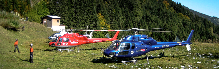 """Try to Helifly"", Client: Columbus, Location: Hochkönig"