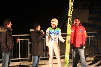 """""""Fushion Night on the Skijumphill, Berg Isel"""", Client: AHT Cooling System, Location: Innsbruck"""