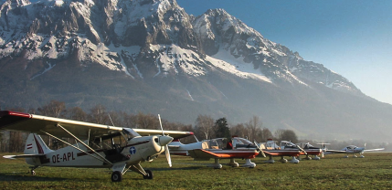 """""""Flightseeing, Client: Unilever: Alpenzentrum Niederöblarn"""